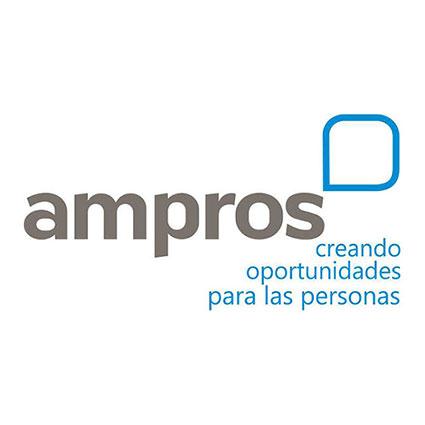Logo corporativo de Ampros